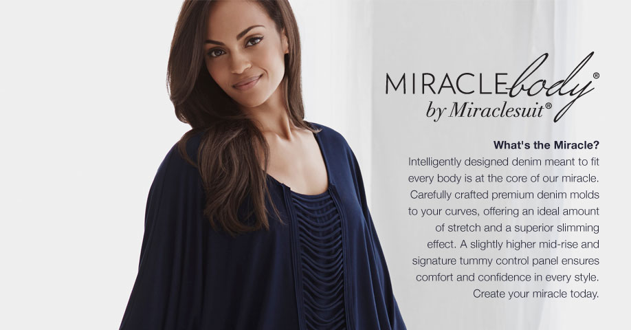 Miraclebody control jeans and tops