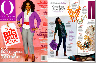 The Oprah Magazine August 2010